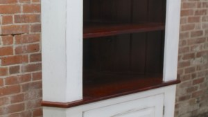 Open Top Corner Cabinet ECustomFinishes