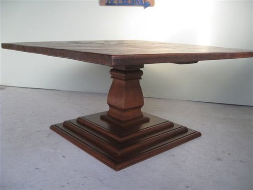 Wood Coffee Table Base Only