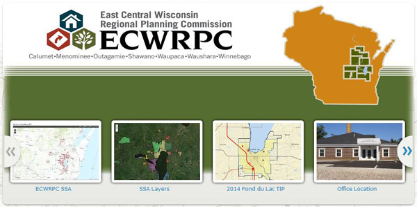 ECWRPC's Interactive Mapping site