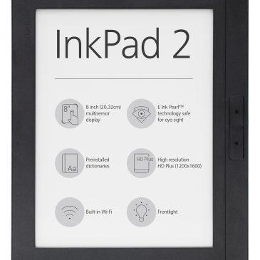 PocketBook InkPad 2 – nowy ośmiocalowiec szwajcarskiego producenta