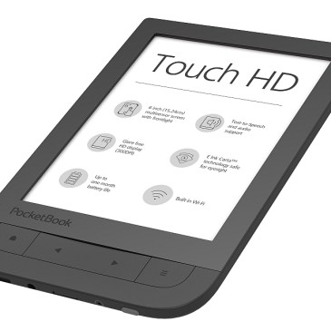 Nowy PocketBook Touch HD z ekranem 300 DPI