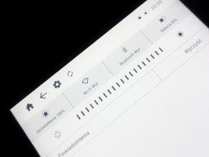 inkBOOK Prime - doświetlenie