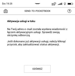 Jak założyć konto w usłudze Send-to-PocketBook 2