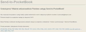 Jak założyć konto w usłudze Send-to-PocketBook 5