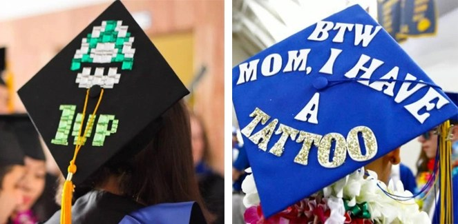 decorating your graduation cap