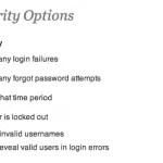 wordfence login options