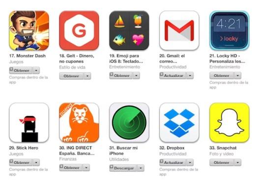 Apple retira la palabra gratis de la aplicaciones