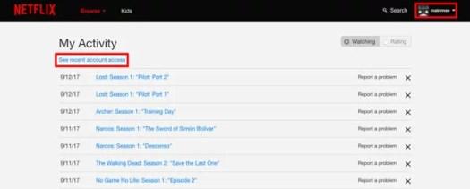 11 trucos Netflix accesos