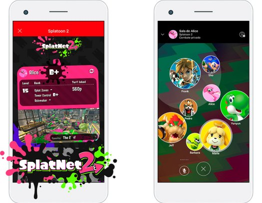 servicio online Nintendo Switch oficial app móvil