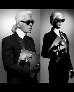 Karl Lagerfeld/Adelina Pestritu
