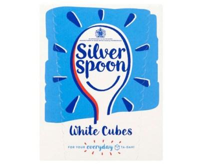 Silver Spoon White Sugar Cubes 10X500G