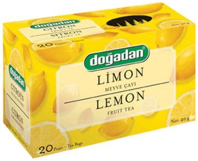 Dogadan Tea Lemon 12X20