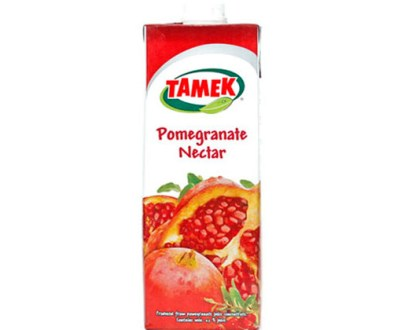Tamek Juice 12X1Lt Pomegranate Nectar