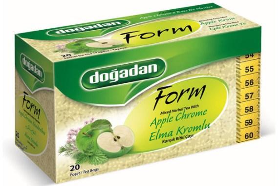 Dogadan Tea Form Apple Chrome 12x20