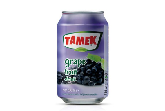 Tamek Juice 24X330Cc Grape Drink