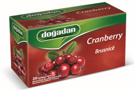 Dogadan Tea Cranberry 12X20