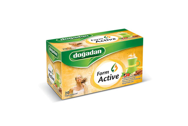 DOGADAN TEA FORM (ACTIVE) CINN & RED GINSENG 12X20