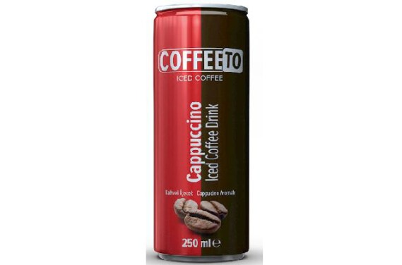 Tamek Coffetto Iced Coffee Cappuccino 24X250Ml