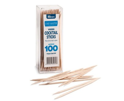 Chef Master Cocktail Sticks 24X12X100Pcs