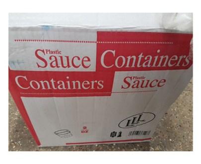 Plastic Sauce  Chutney Cups 2Oz 1000S