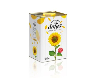 Safya Sunflower Oil Tin 18Lt