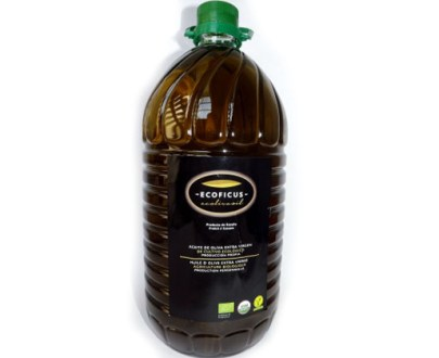Ecoficus Organic Olive Oil Extra Virgin Pet 3X5Lt