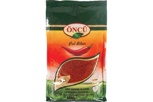 Oncu Hot Pepper Flakes 2X5Kg