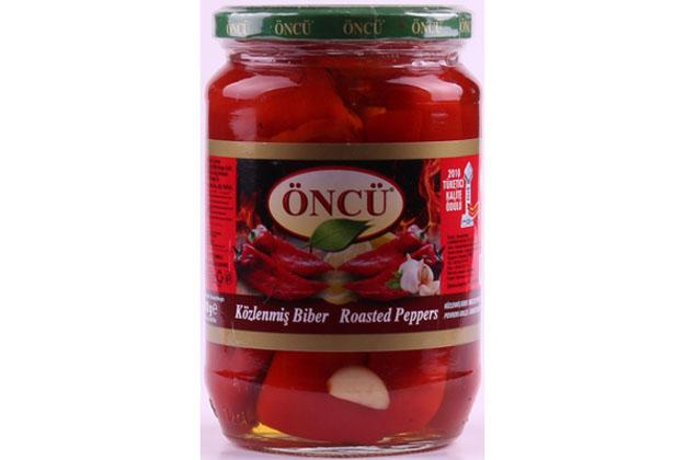 Oncu Roasted Pepper 1/1 Glass 12X680Cc