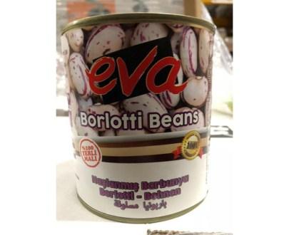 Eva Borlotti Beans Boiled Tr 12X800Gr