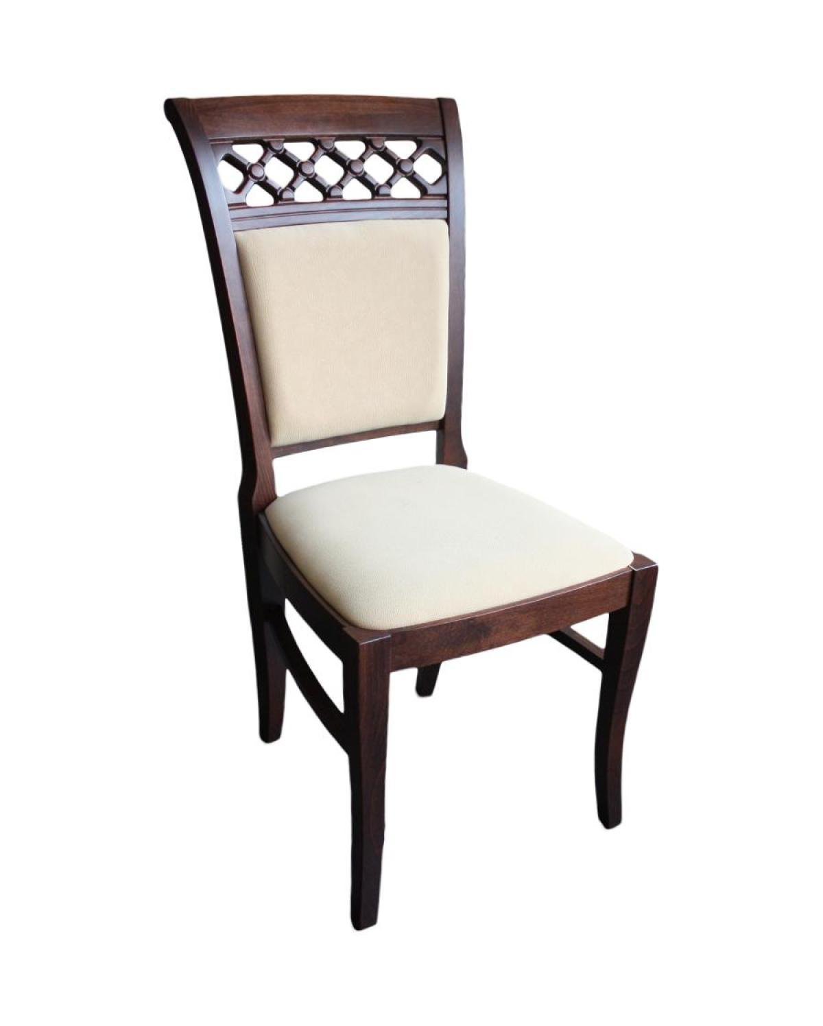 Krzesło tapicerowane bukowe