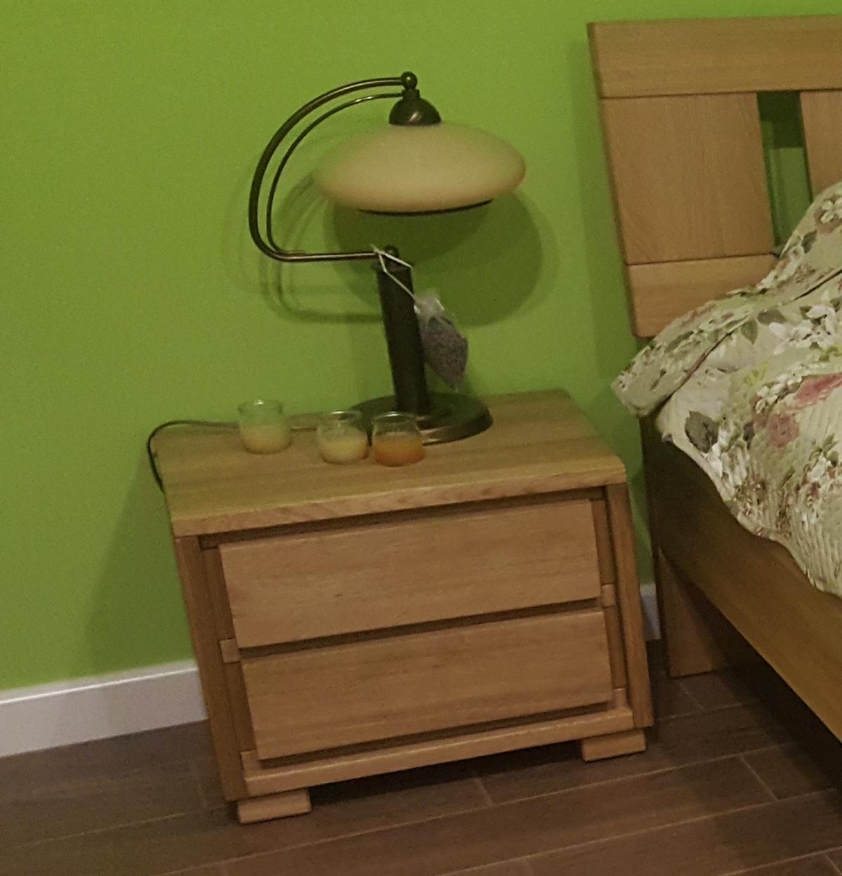 szafka nocna dębowa