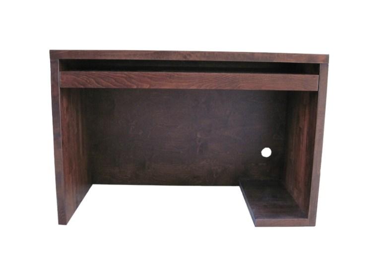 Biurko z drewna bukowego bez szuflad
