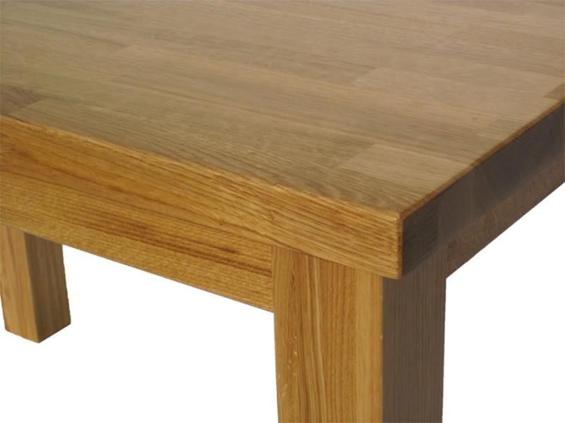 stół z litego drewna dębowego s3