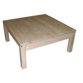 Stolik z szufladą, Dębowy stolik z szufladami