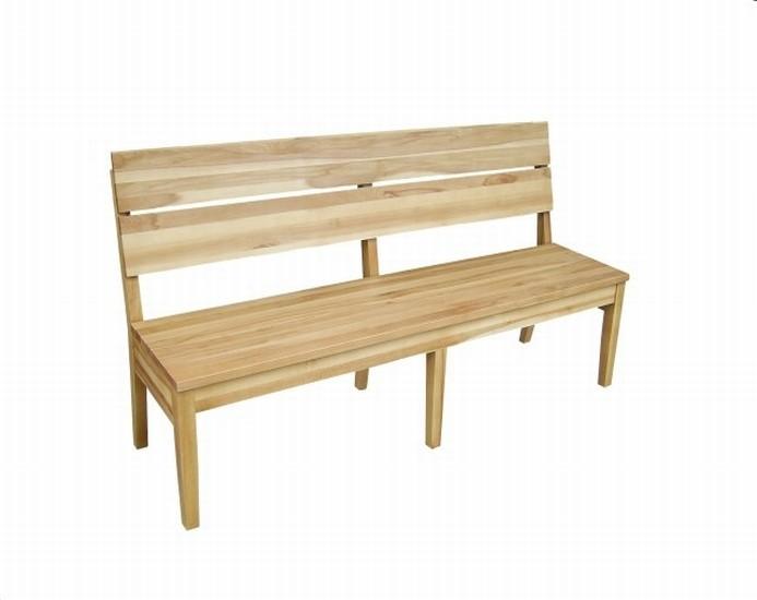 Ławka z drewna