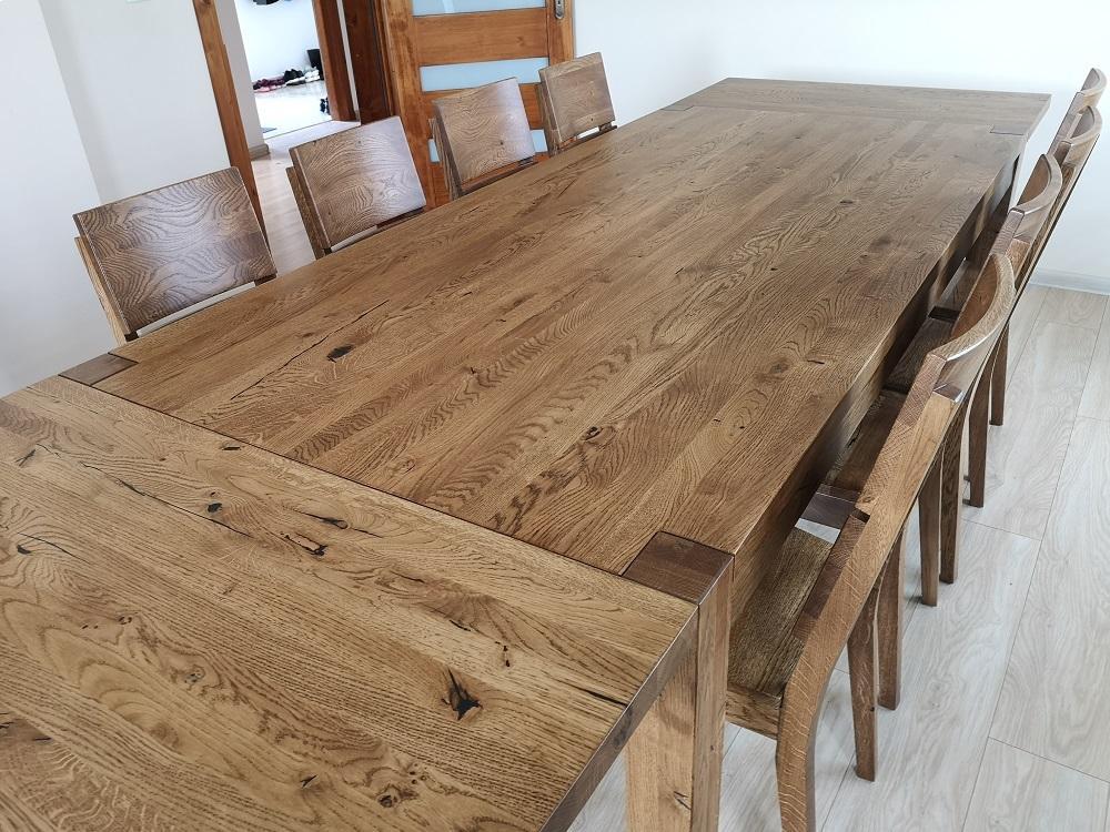 stół s1 dziki dąb palisander