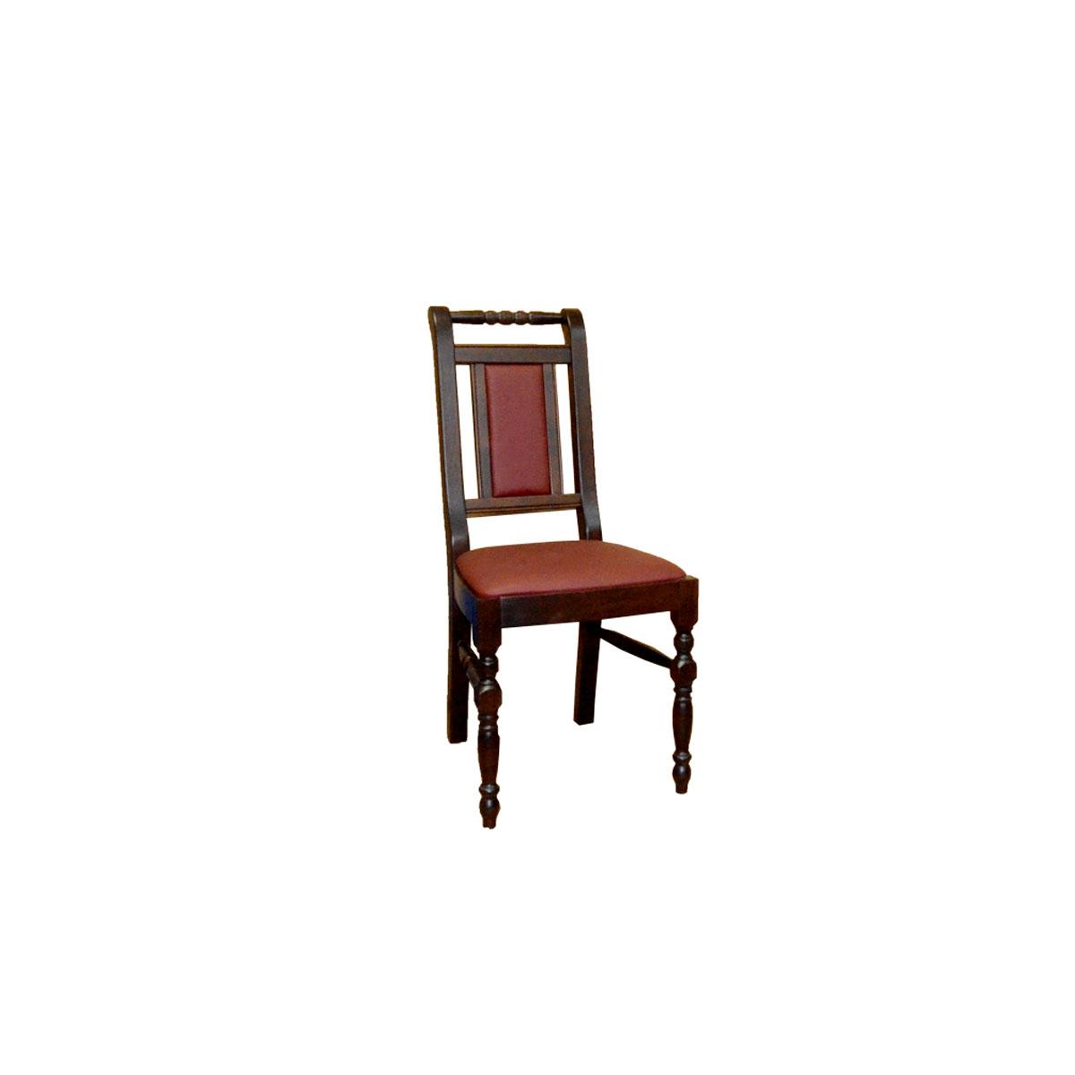 Krzesło z nogą toczoną