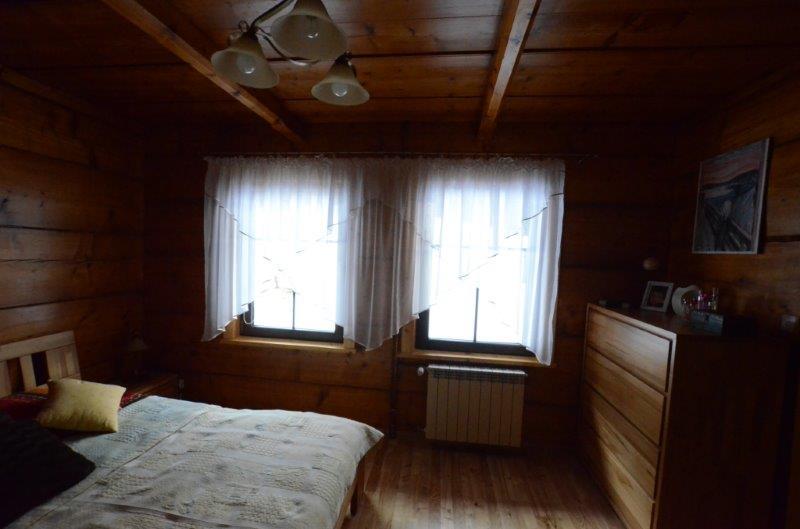 Sypialnia drewniana