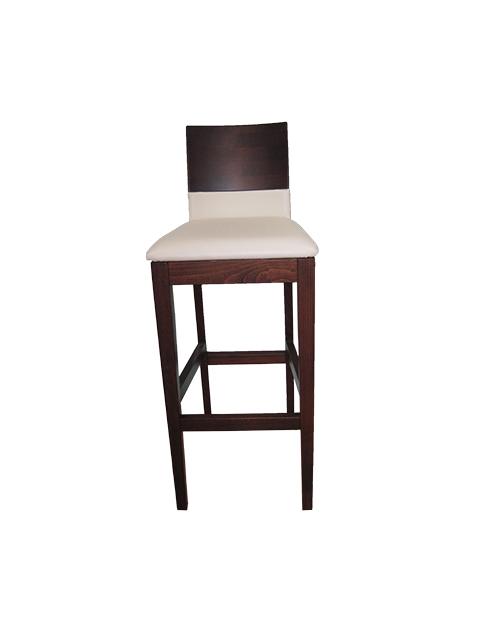 krzesło barowe tapicerowane