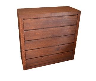 komoda dębowa 5szuflad