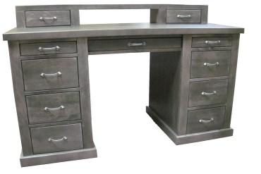 biurko z litego drewna bukowego