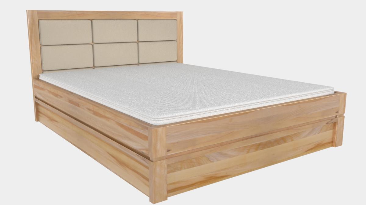 łóżko lk10 buk twardzielowy