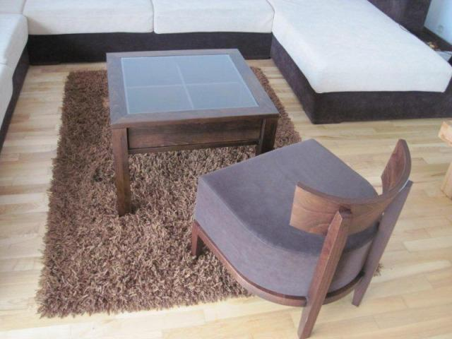 fotelik cubi kawowy