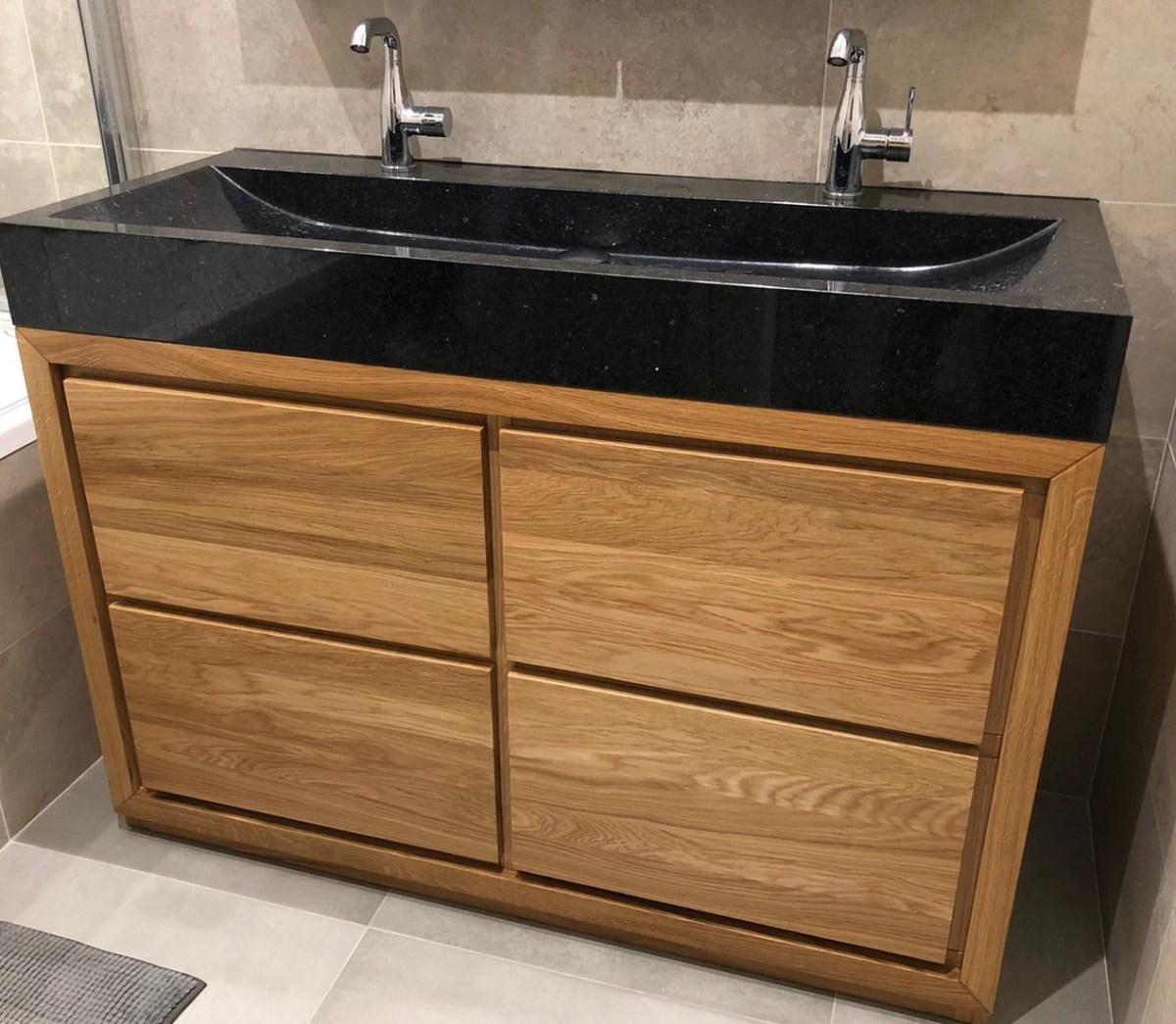 komoda łazienka dąb