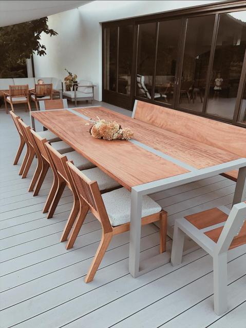stół-drewniani-aluminiowy