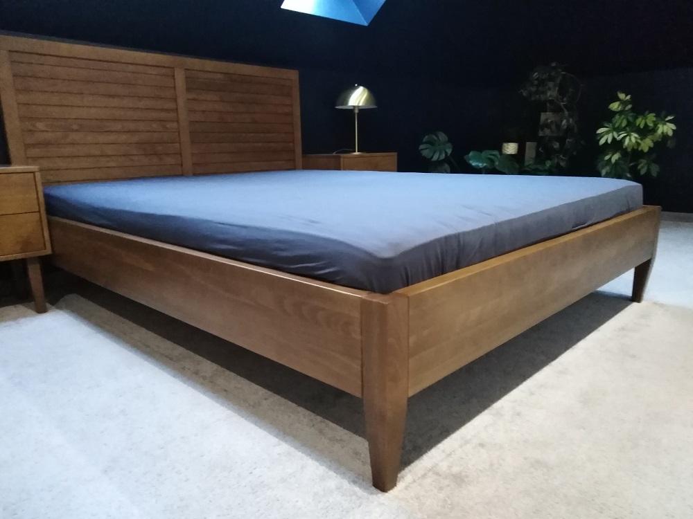 łóżko LK2 buk rustykalny