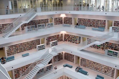 very large library