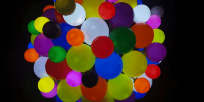 balloons cluster