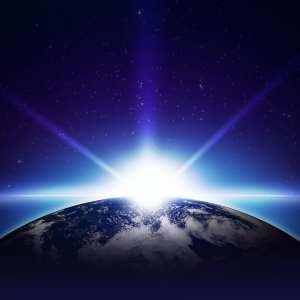 Light on Globe