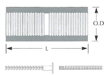 standard coupler for rebar
